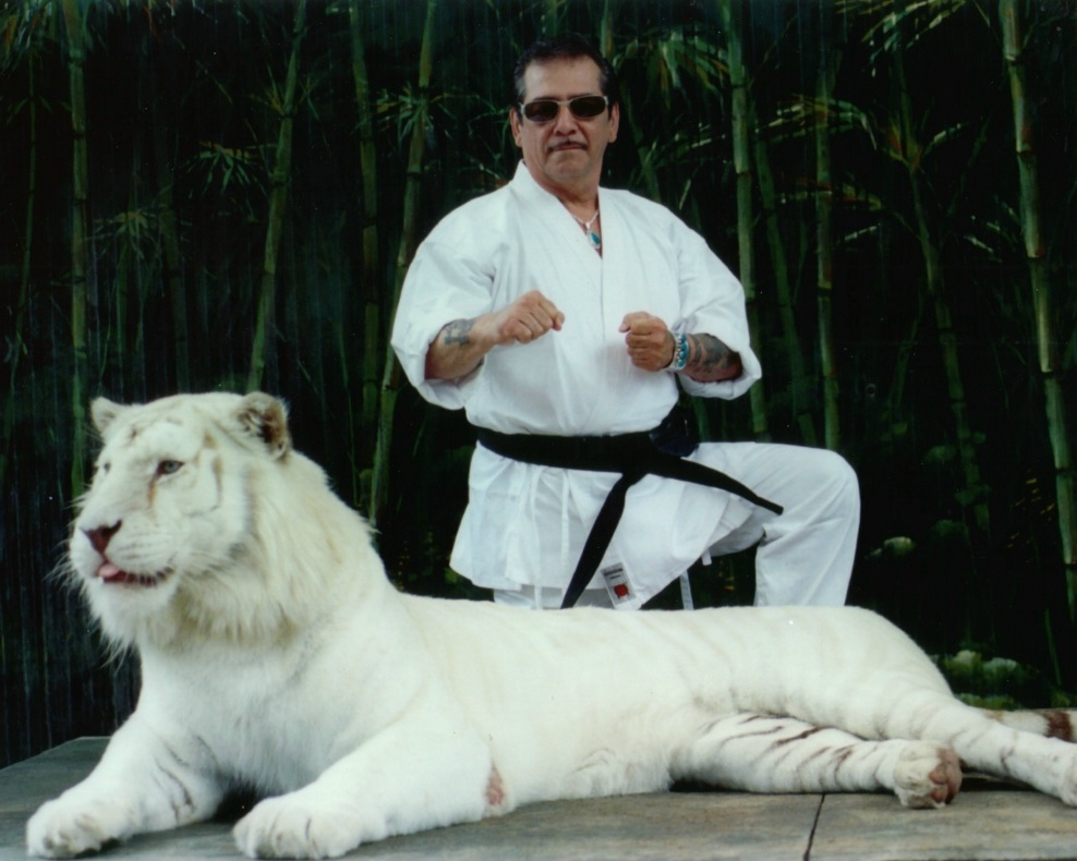 Grandmaster Joe Onopa - the White Tiger