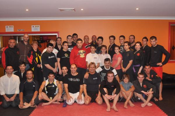 MMA seminar with locals & visitors