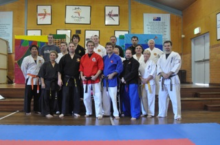 Seminar at Whitewolf Martial  Arts